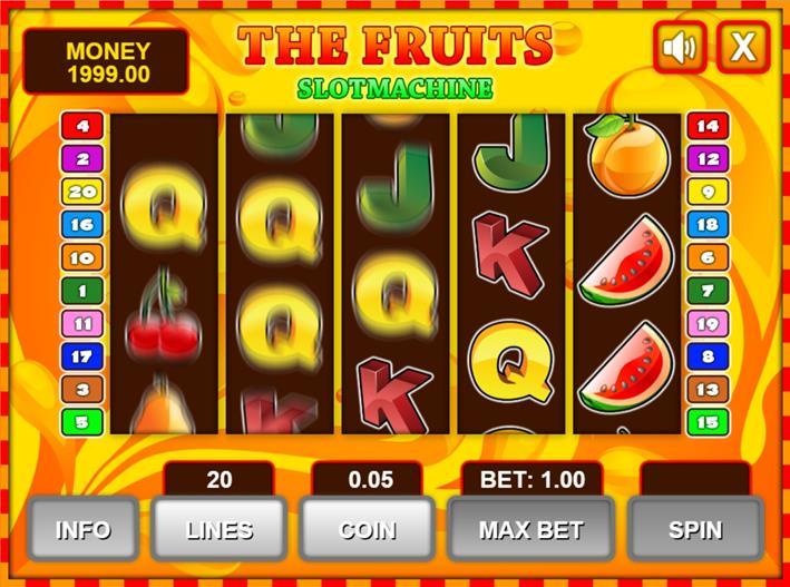 fruits-slots
