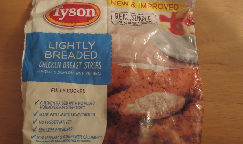 tyson chicken with msg