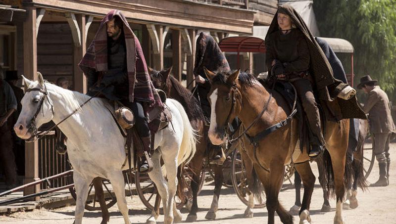 westworld horses scene