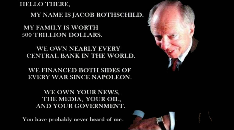 Jacob Rothschild - 36 Million Deaths